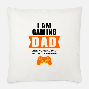 Life Force ShirtActs Gaming Dad - Sofa pillow with filling 45cm x 45cm