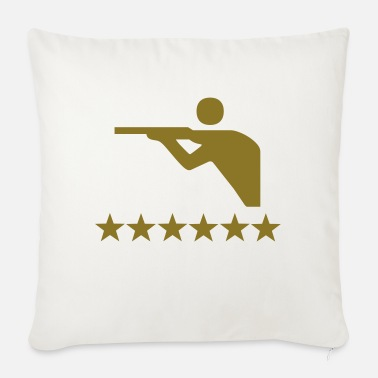 Shooting shooting - Sofa pillow with filling 45cm x 45cm