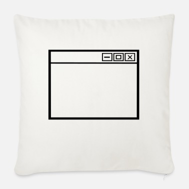 Windows Window - Sofa pillow with filling 45cm x 45cm