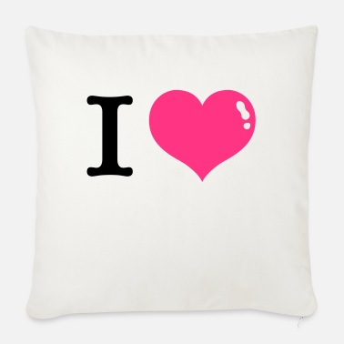 I Love I Love, I love - Sofa pillow with filling 45cm x 45cm
