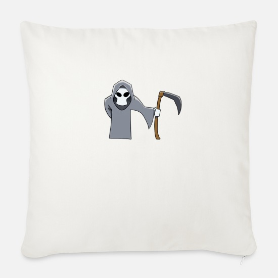 Love Pillow Cases - Reaper - Sofa pillow with filling 45cm x 45cm natural white