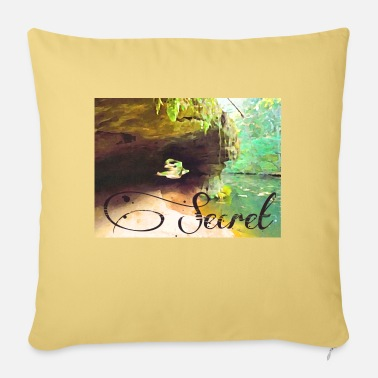 Secret Secret - Sofa pillow with filling 45cm x 45cm