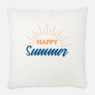 Summer Summer Happy Summer Festival Music Gift - Sofa pillow with filling 45cm x 45cm