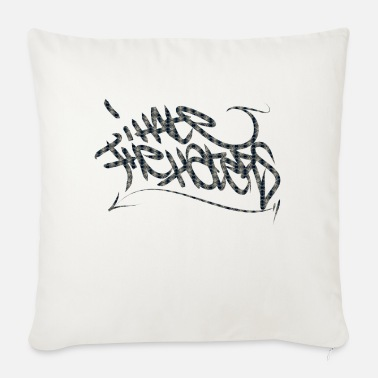 Tag to tag - Sofa pillow with filling 45cm x 45cm