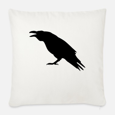 Raven raven - Sofa pillow with filling 45cm x 45cm