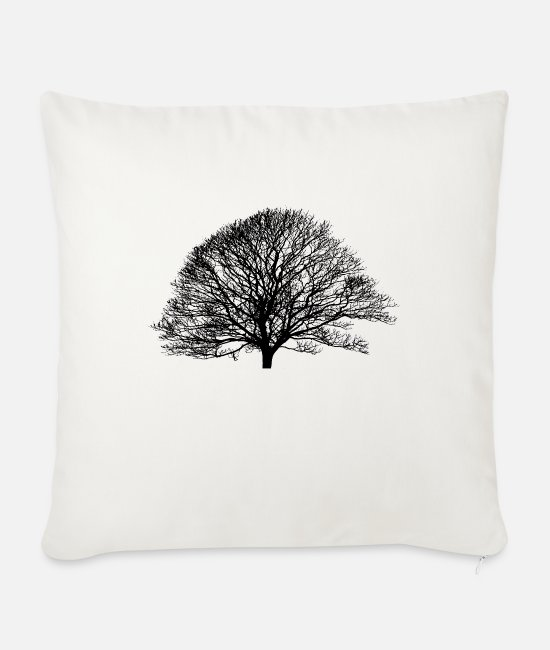 Earth Pillow Cases - Shadow_no logo - Sofa pillow with filling 45cm x 45cm natural white