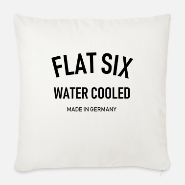 996 Flat Six - Water Cooled - Made in Germany - Boxer - Sofa pillow with filling 45cm x 45cm