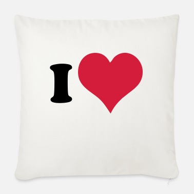 I Heart I Heart - Sofa pillow with filling 45cm x 45cm