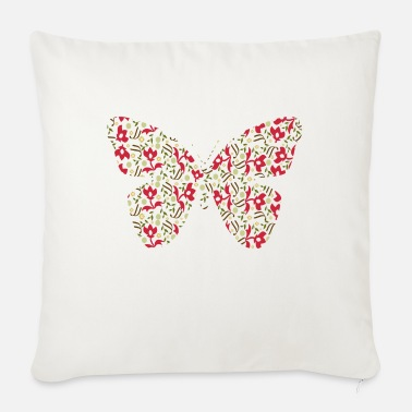 Butterfly I - Sofa pillow with filling 45cm x 45cm