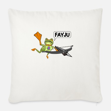Amazing Amazing Frog Crossbow - Sofa pillow with filling 45cm x 45cm