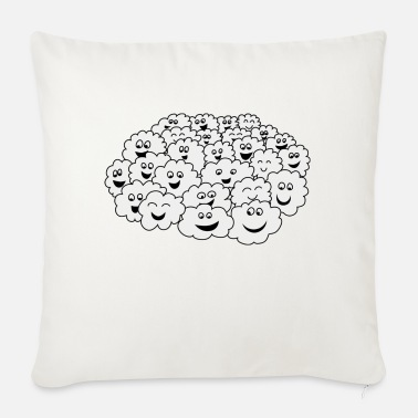 Cloud Cloud of clouds - Sofa pillow with filling 45cm x 45cm