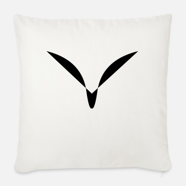 face - Sofa pillow with filling 45cm x 45cm