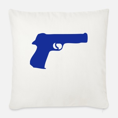 Gun gun gun gun gun revolver307 - Sofa pillow with filling 45cm x 45cm