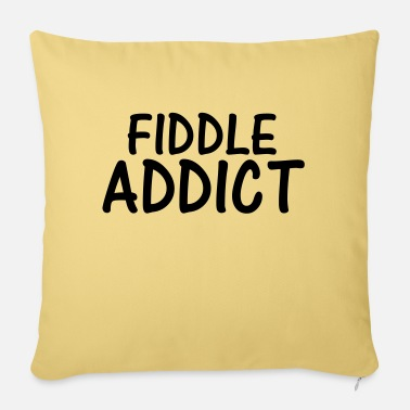 Fiddle fiddle addict - Sofa pillow with filling 45cm x 45cm