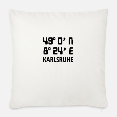 Karlsruhe Karlsruhe - Sofa pillow with filling 45cm x 45cm