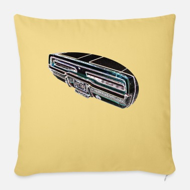 Charger Dodge Charger 1969 - Sofa pillow with filling 45cm x 45cm