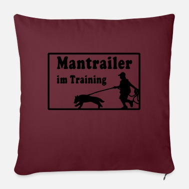 mantrailer_im_training - Sofa pillow with filling 45cm x 45cm