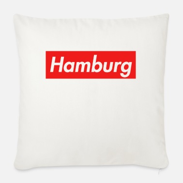 Metropolis Metropolis Hamburg - Sofa pillow with filling 45cm x 45cm