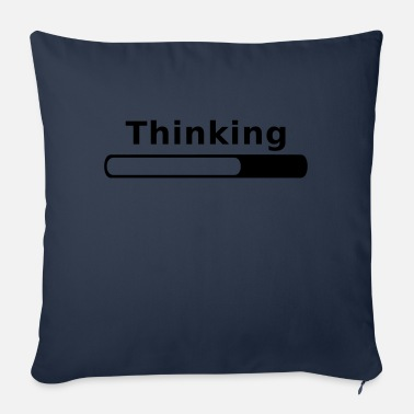 Thinking Thinking in Progress - Coussin et housse de 45 x 45 cm