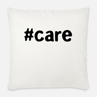 Care For #care - Sofa pillow with filling 45cm x 45cm