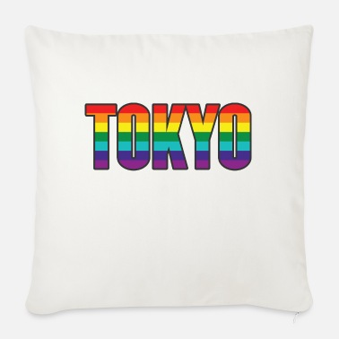 Lesbian Tokyo Pride - Sofa pillow with filling 45cm x 45cm
