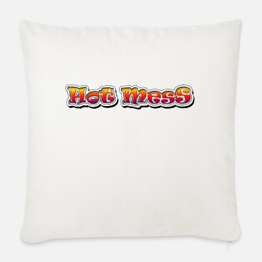 Hot Mess - Sofa pillow with filling 45cm x 45cm