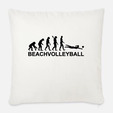 Beachvolleyball Evolution Beachvolleyball - Bankkussen met vulling 44 x 44 cm