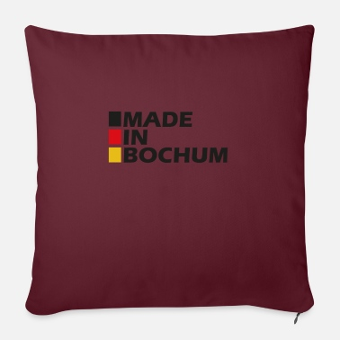 Made in Bochum ger - Sofa pillow with filling 45cm x 45cm