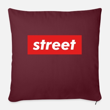 Street Street - Sofa pillow with filling 45cm x 45cm