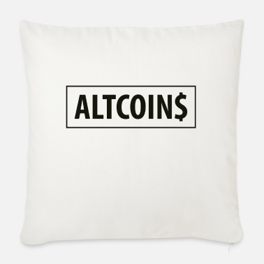 Altcoin ALTCOINS 01 - Sofa pillow with filling 45cm x 45cm