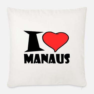 Manaus I love manaus - Sofa pillow with filling 45cm x 45cm