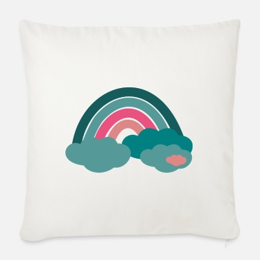 Happy Rainbow - Sofa pillow with filling 45cm x 45cm