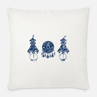 Jewelry Berber jewelry - Sofa pillow with filling 45cm x 45cm