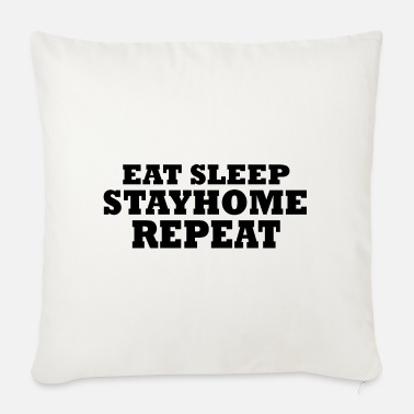 Home STAY HOME - Sofa pillow with filling 45cm x 45cm