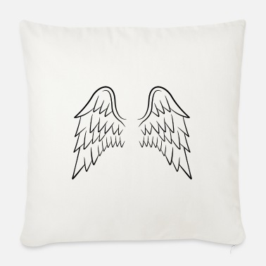Wing Angel wings wings - Sofa pillow with filling 45cm x 45cm