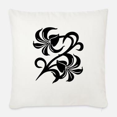 Lily Lilies - Sofa pillow with filling 45cm x 45cm