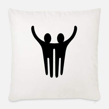 Together Together - Sofa pillow with filling 45cm x 45cm