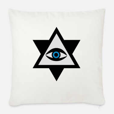 The Eye of God 3c - Sofa pillow with filling 45cm x 45cm