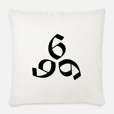 666 666 - Sofa pillow with filling 45cm x 45cm