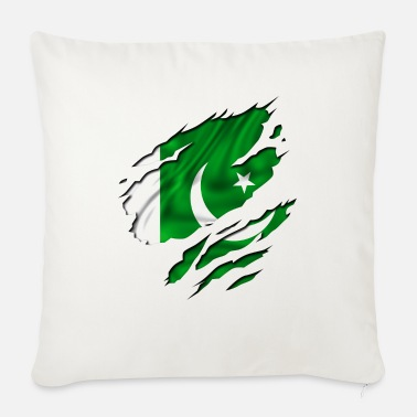Country Flag Football Sport And Arab Art Jesus country flag pakistan - Sofa pillow with filling 45cm x 45cm