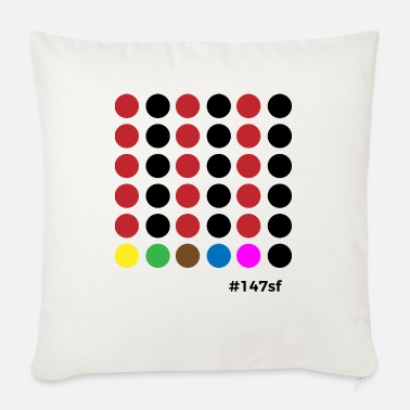 Snooker # 147sf - Sofa pillow with filling 45cm x 45cm