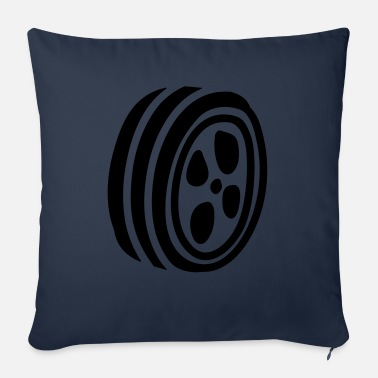 Hoop hoops - Sofa pillow with filling 45cm x 45cm