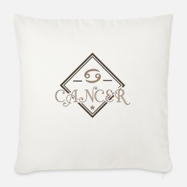 Cancer Cancer Cancer Cancer August - Sofa pillow with filling 45cm x 45cm