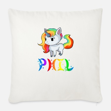 Phil Unicorn Phil - Sofa pillow with filling 45cm x 45cm