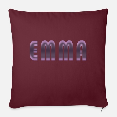 Birth Name Emma name first name name day birth gift idea - Sofa pillow with filling 45cm x 45cm