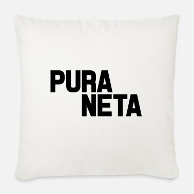 Net Pure Net - Sofa pillow with filling 45cm x 45cm