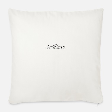 Brilliant brilliant - Sofa pillow with filling 45cm x 45cm