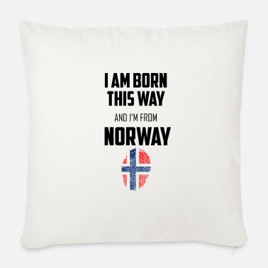 Norway Norway - Norway - Sofa pillow with filling 45cm x 45cm