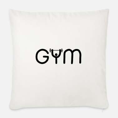 Gym GYM gym - Sofa pillow with filling 45cm x 45cm