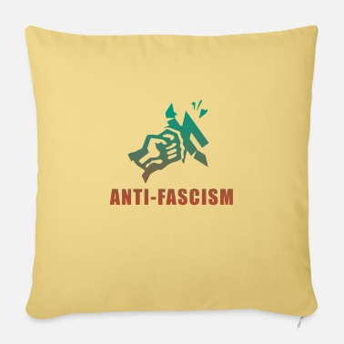 Fascism Anti fascism - Sofa pillow with filling 45cm x 45cm